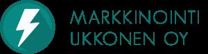 Markkinointiukkonen Logo Teksti Väri